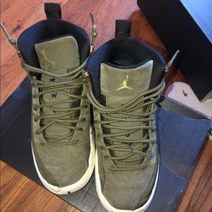 "Jordan 12 ""Olive"""